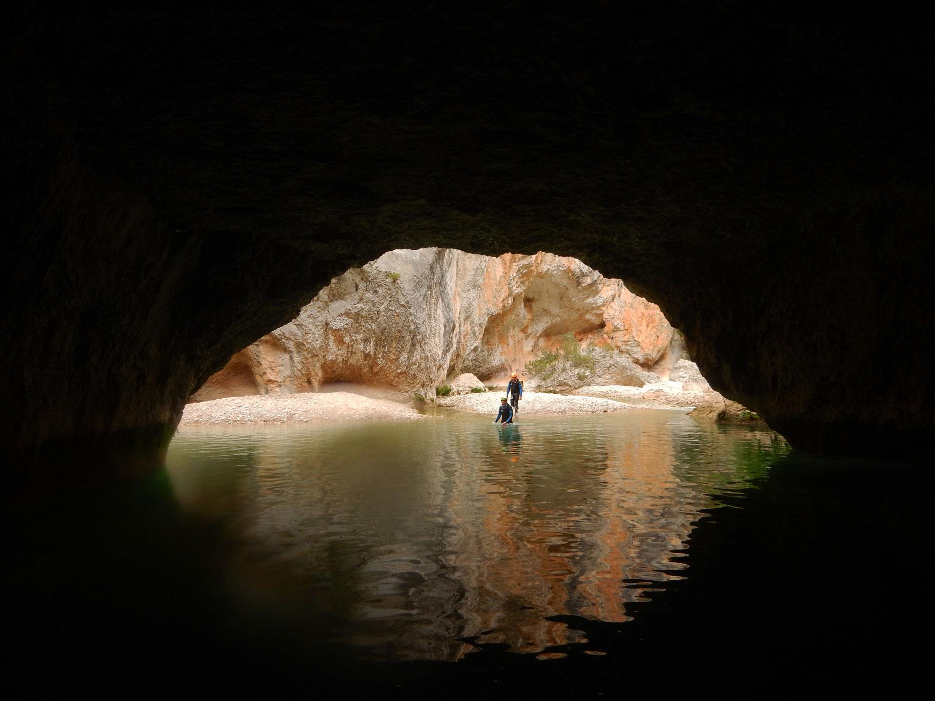 Canyoning en Ariège, séjour au canyon de la Sierra en Espagne - Vertikarst